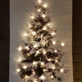 wanddoek-40leds-kerst